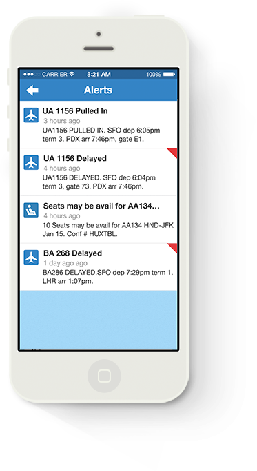 Image of Alerts for iPhone