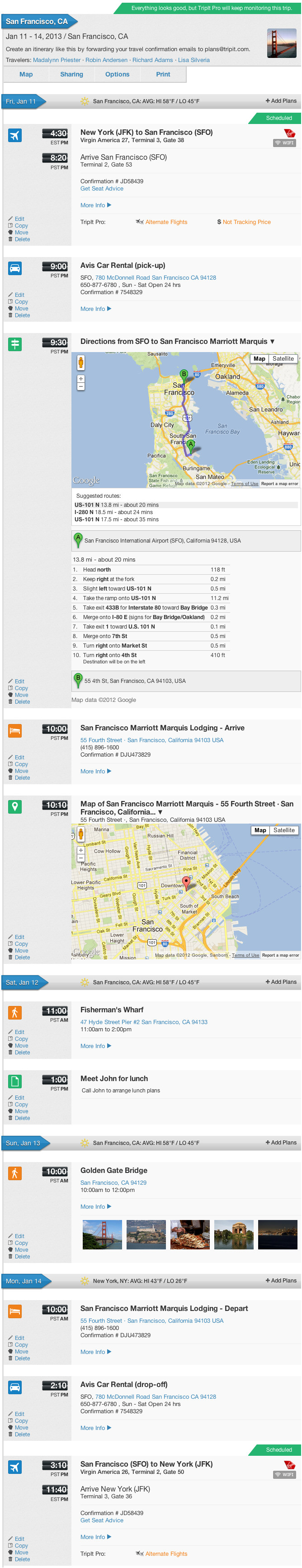 Sample itinerary traveltour template with flight schedule more sampleitinerary maxwellsz